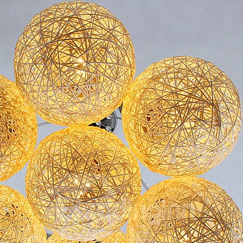 Pretty Ball Shape Alloy 7-Heads Pendant Lights