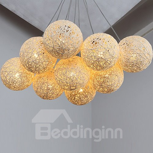 Beautiful Fantastic 9-Heads Alloy Pendant Lights
