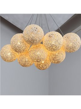 Beautiful Fantastic 9-Heads Alloy Pendant Lights