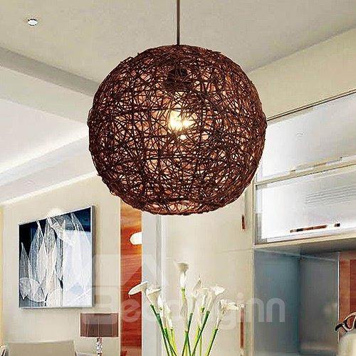 Pretty Design Alloy Round Shape Pendant Light