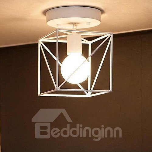 Wonderful Modern Alloy Polygon Shape Pendant Lights