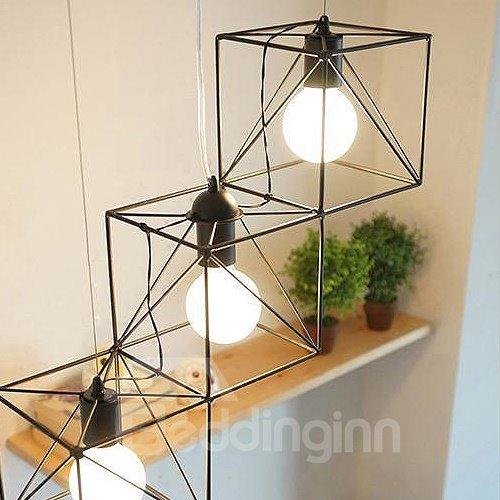 Unique Design Alloy Pretty 3-Heads Pendant Lights