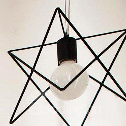 Beautiful Classic Alloy Polygon Shape Pendant Light