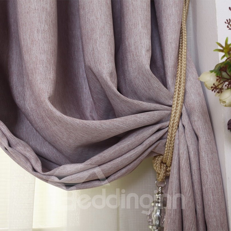 New Home Fashion Functional Blackout Grommet Top Curtain