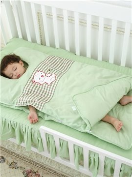 Gorgeous Little Bear and Stripes Pattern Baby Sleeping Bag