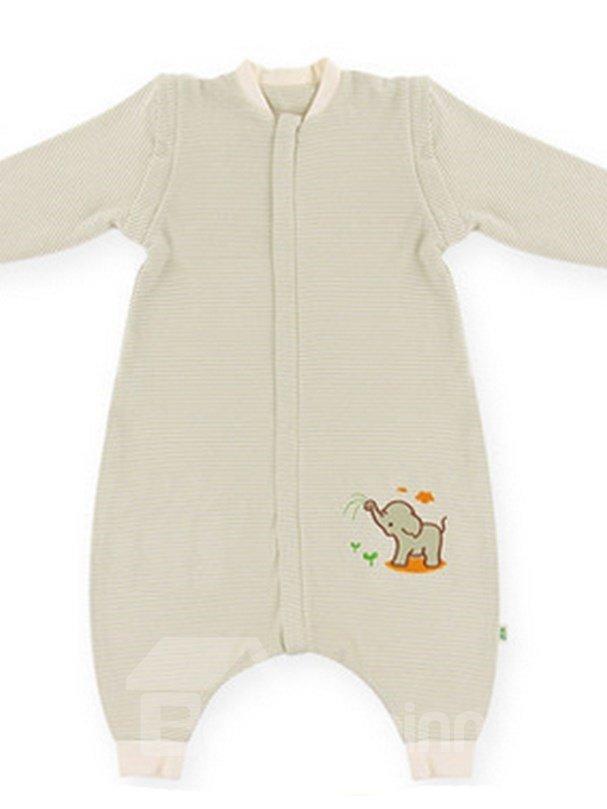 Hot Selling Skincare Organic Cotton Little Elephant Baby Sleeping Bag