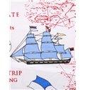 Brave Navigators Travelling the Sea Pattern Baby Sleeping Bag