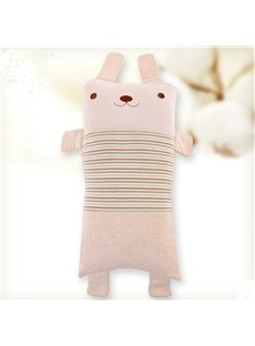 New Arrival Lovely Rabbit Shape Antistatic Organic Cotton Baby Pillows