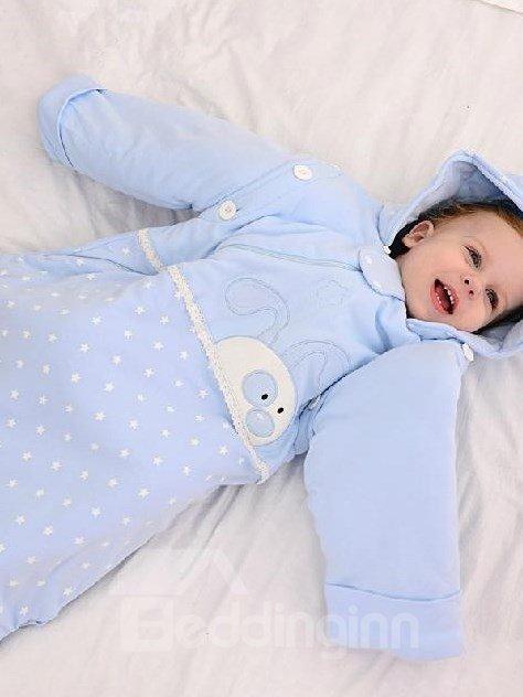 Super Soft Rabbit Stars Design Baby Sleeping Bag