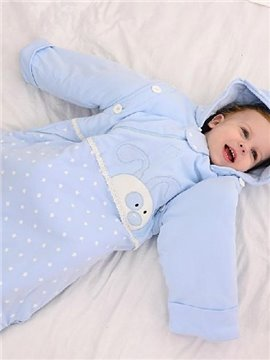 Super Soft Rabbit Stars Design Baby Sleeping Bag