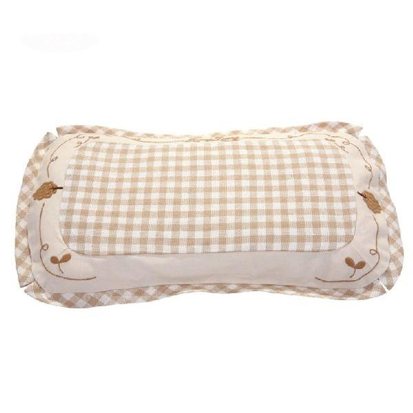 Beautiful Ramie and Cotton Beige Baby Pillow