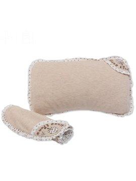 Wonderful Beige Newborn Anti Mite Antibacterial Baby Pillow