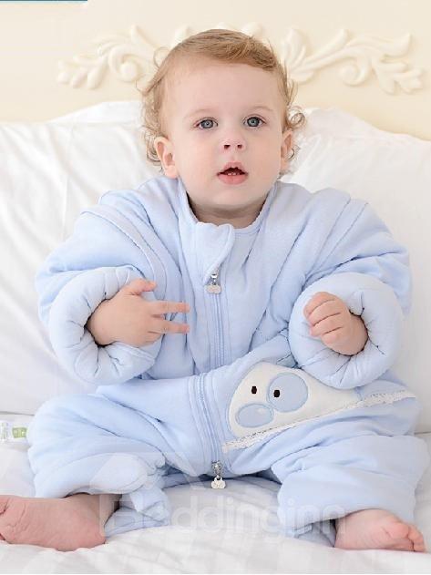 Top Class Cozy Rabbit Blue Baby Sleeping Bag