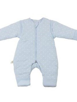 Super Elegant Cozy Blue Baby Sleeping Bag