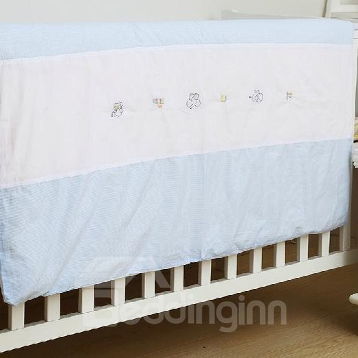 Classic Blue Lattice Soft and Comfortable Baby Quilts