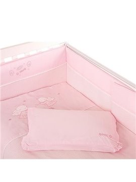 High Quality Romantic Pink Concise Baby Pillow