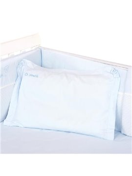High Quality Graceful Blue Concise Baby Pillow