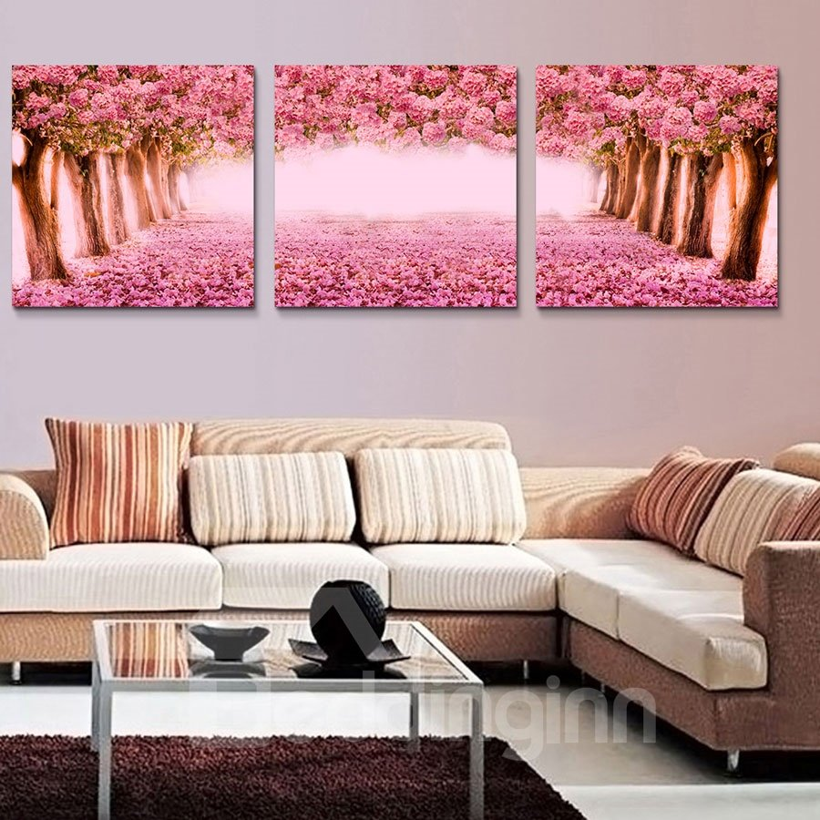 Best selling popular 3 pieces of crystal film art wall for Best way to sell art prints