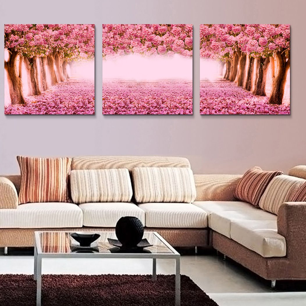 Romantic Popular Beautiful Flower Tree Film Art Wall Prints