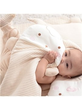 Hot Selling Goat Design 100% Cotton Baby Pillow