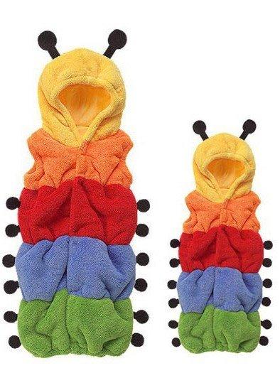 Creative Colorful Caterpillar Design Baby Sleeping Bag