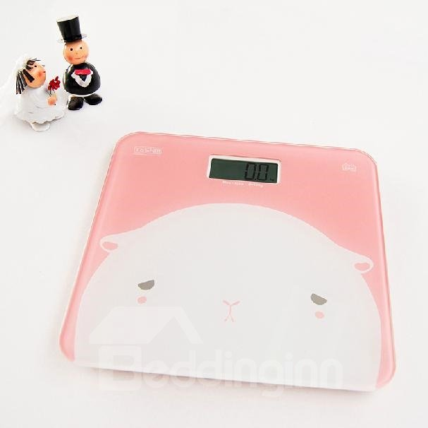 Fabulous Adorable Pink Alpaca Accurate Weight Scale