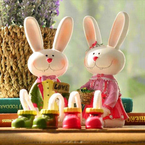 Popular Fantastic Resin Lovely Rabbit Suspending Doll