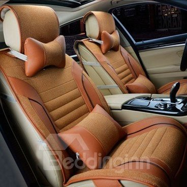 Super Soft Luxury Style Shalins Material Car Seat Cover