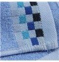 Cozy Plaid Design Soft Bamboo Fiber Towel