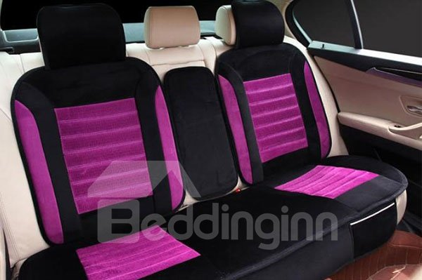 Super Soft And Warm Combination of Two Colors Car Seat Cover