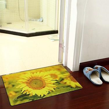 Super Fashion Wonderful Sunflower Pattern Doormats