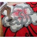 Beautiful Top Quality Fantastic Peony Doormat