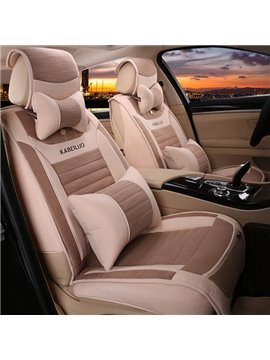 Super Soft And Comfortable Light Color Car Seat Cover