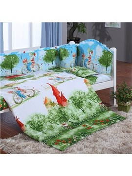 Grimm's Fairy Tales Print 9-Piece Crib Bedding Sets