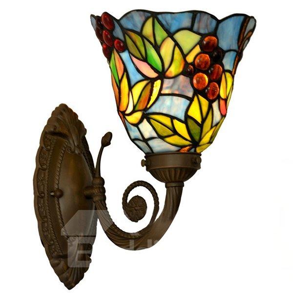 Distinguished Tiffany One Head Corridor Wall Light