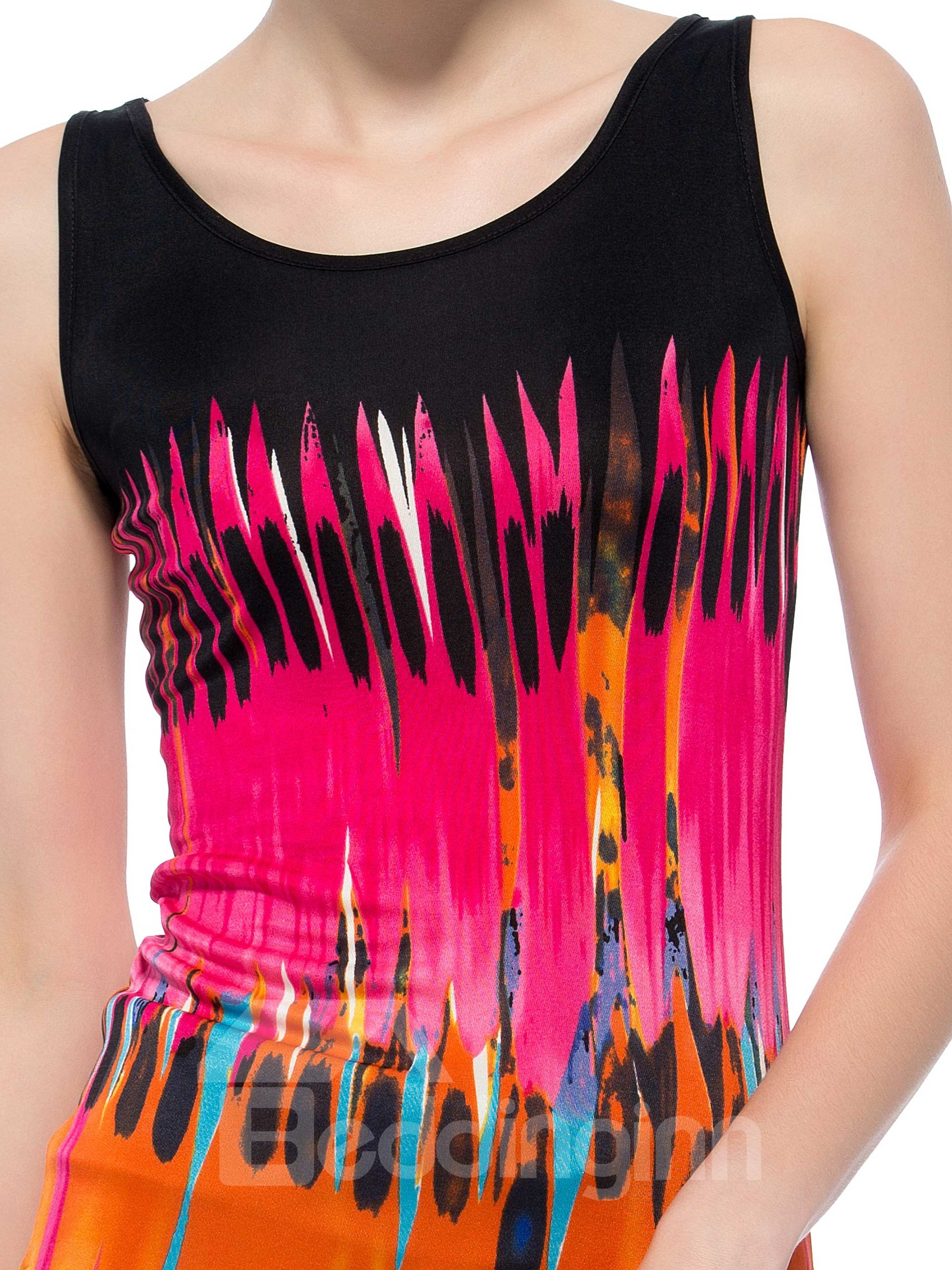High Quality Pretty Floral Patterns Silk Camisole