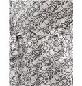 Stylish Black Leopard Print Mulberry Silk Robe
