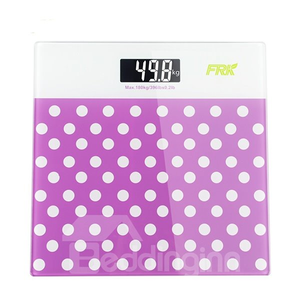Lovely Chic Dots Design Accurate Weight Scale