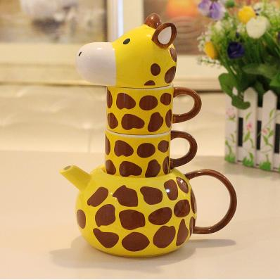 Beautiful Unique Giraffe Style Creative Cup Sets 11155048