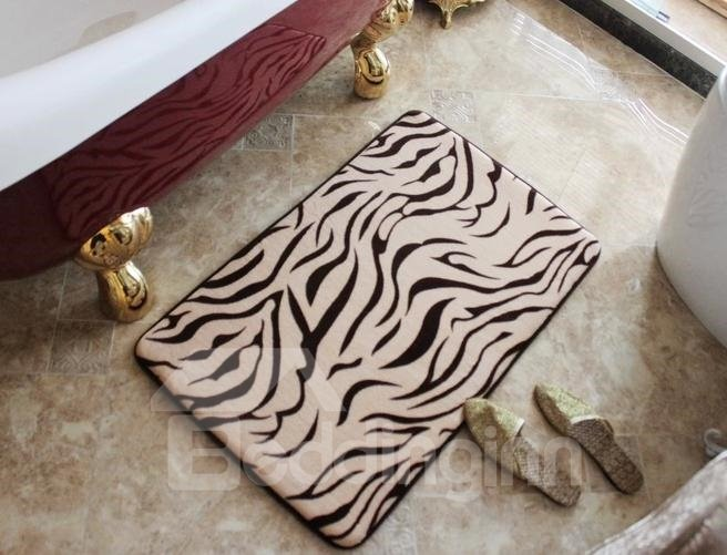 High Quality Wonderful Non-Slip Fashion Zebra Doormat