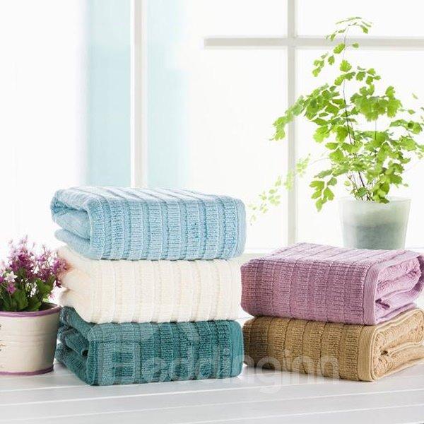 Comfy Full Cotton Solid Color Bath Towel