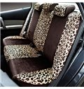 Fashion and Sexy Leopard Stripes Pattern Soft Car Seat Cover