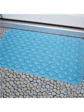 Adorable Skidproof Bubble Design Rubber Bath Mats