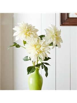 Wonderful Fresh 3-Pieces Dahlia Artificial Flowers