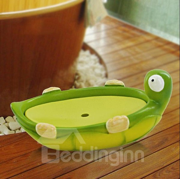 Adorable Creative Tortoise Style Resin Soap Box
