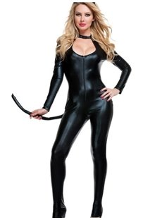 Super Sexy Black Cat Costume