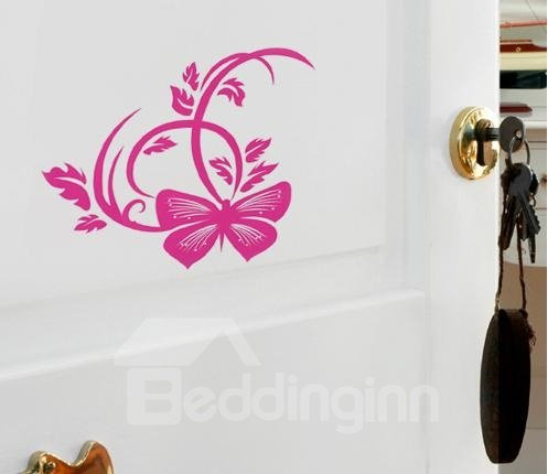 New Classic Small Wonderful 2-Piece Butterfly Wall Stickers