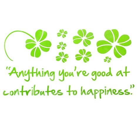 Wonderful Pretty Green Infinite Happiness Fashion Wall Stickers