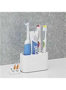 Hot Selling Multi Function Practical White Toothbrush Holder