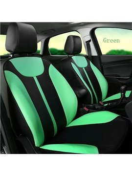 All-Inclusives Style Bright Color Colors Matching Ultra Comfortable Leather Car Seat Cover